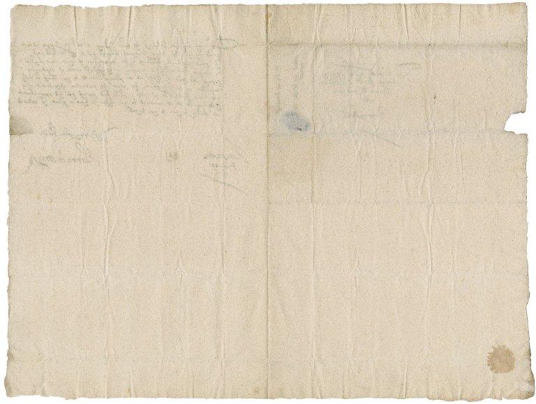 Letter from Hamon LeStrange to Nathaniel Bacon