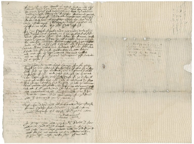 Letter from William Morley to Richard Mason