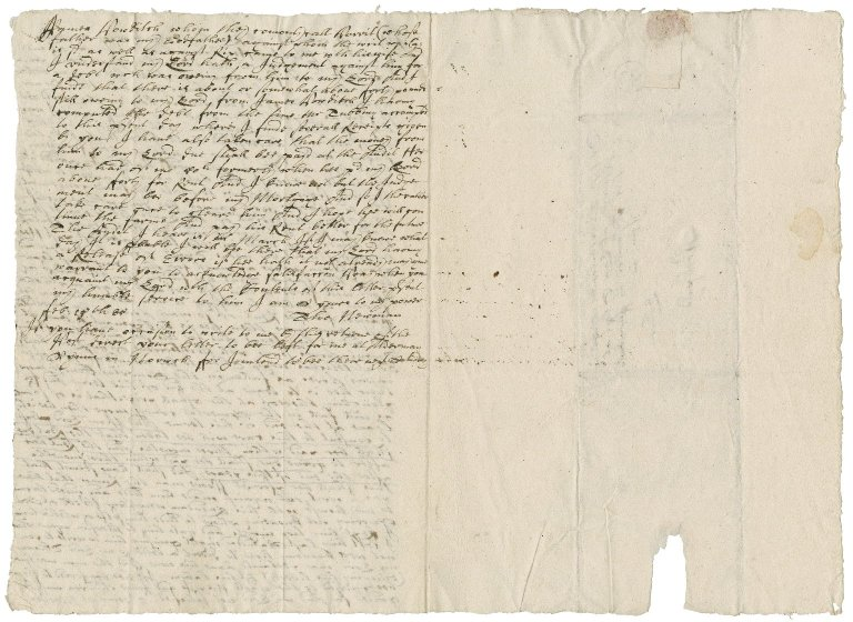 Letter from Thomas Newman to Bartholomew Snelling