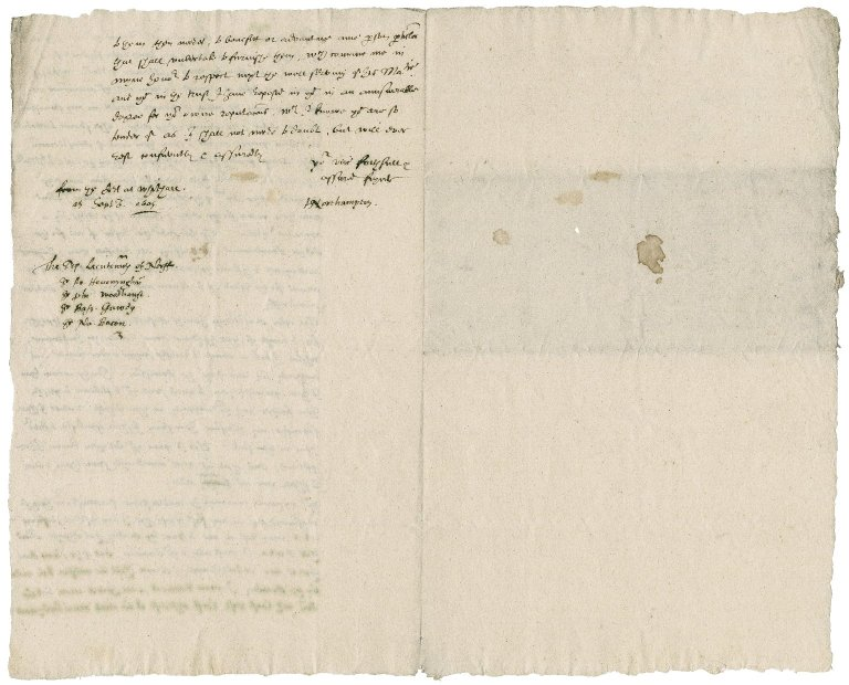 Letter from Henry Howard, Earl of Northampton, to the Deputy Lieutenants of Norfolk : copy