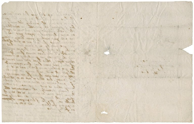 Letter from Roger Townshend, London, to Sir Roger Townshend, Stiffkey.
