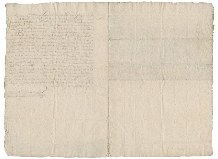 """Letter from Bartholomew Wormell to """"Right worshipfull"""""""