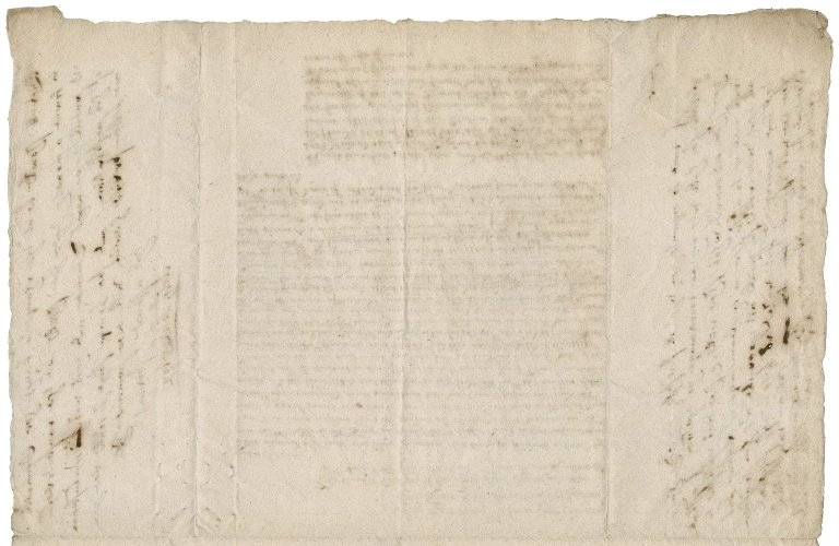 Petition against Lady Bacon and Sir Owne Smith, from Lady Elizabeth (Bacon)Knyvett to Thomas, Lord Coventry, lord keeper