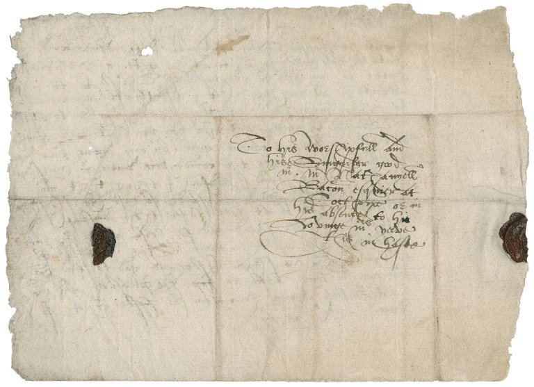 Letter from unknown correspondent to Nathaniel Bacon