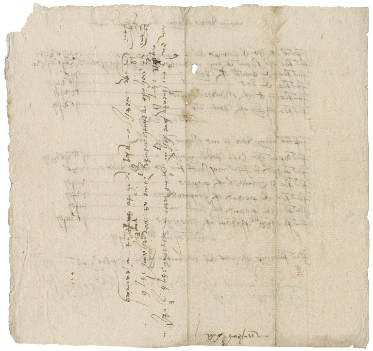 Account between Richard Manser, servant and Nathaniel Bacon