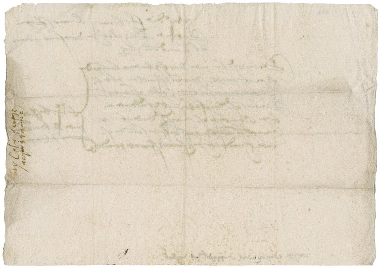 Rent receipt from Kemp Bartholomew to Nathaniel Bacon