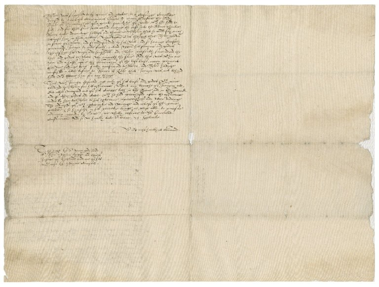Letter from Nathaniel Bacon to Sir John Popham : copy