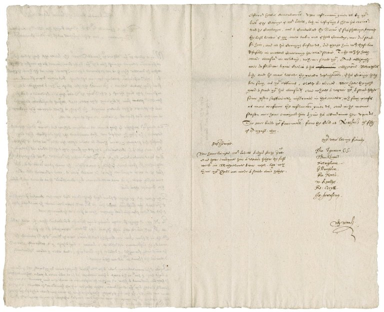 Petition from Thomas Lovell to Sir Robert Cecil, Secretary of State : copy