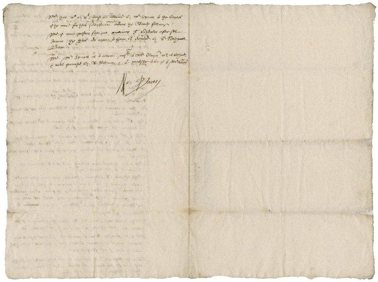 Memoranda of Nathaniel Bacon on the reckoning between Robert Styleman and Richard Spratt