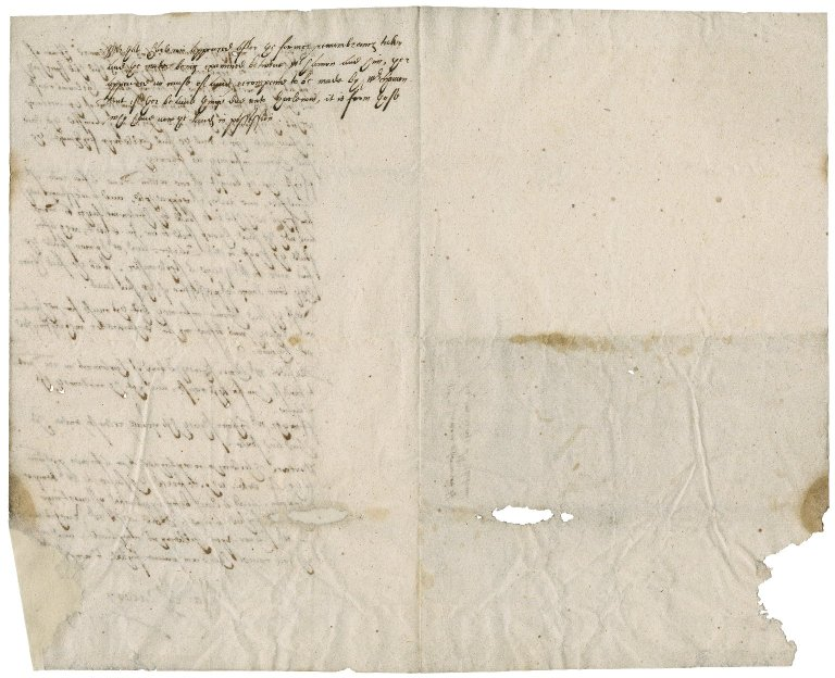 Case of Edward Hamon and Mr. Harlewin overseen by Nathaniel Bacon