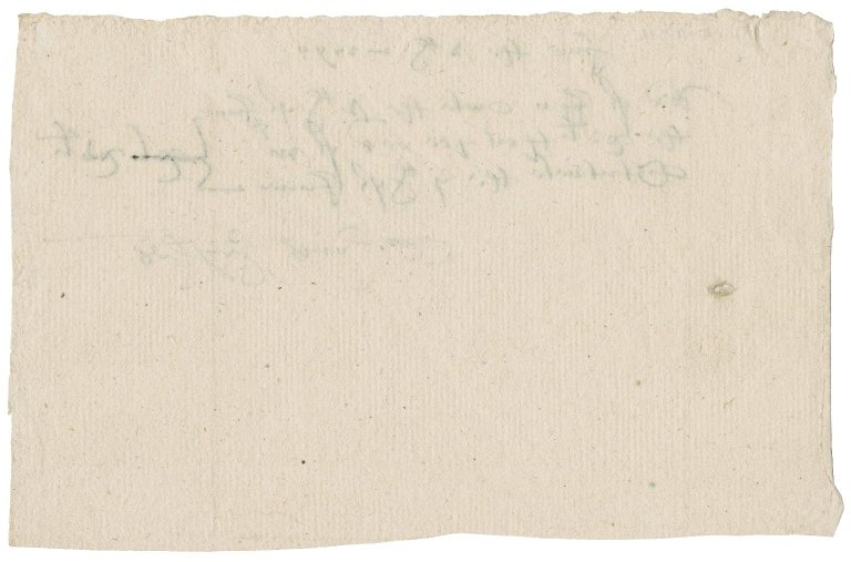Receipt for John Owles, Lady Jane (Stanhope) Townshend's servant, from Mr. Stutevile