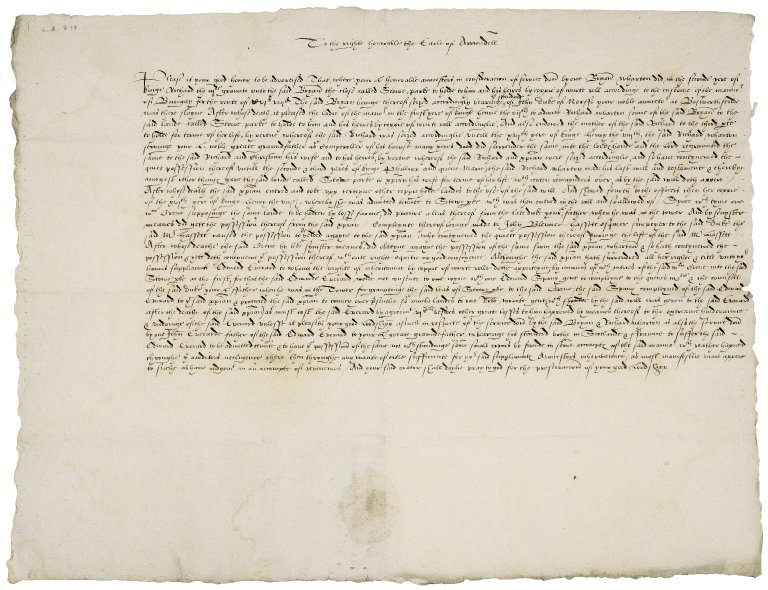 Petition from Edward Everard to Philip Howard, Earl of Arundel