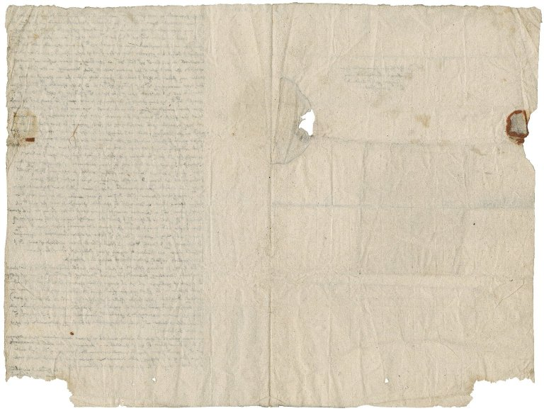 Letter from unidentified correspondent to Philip Howard, Earl of Arundel