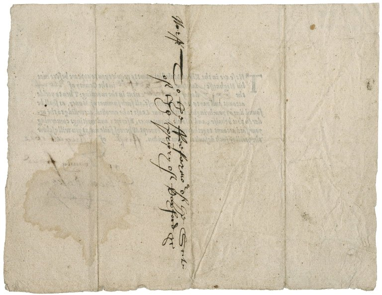 Summons from the Exchequer to the Fee farmer of the Priory of Caxford