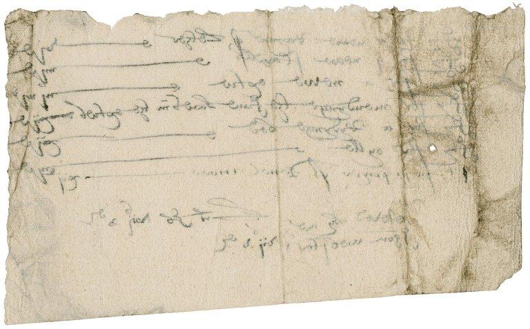 Tradesman's receipt from John Webster