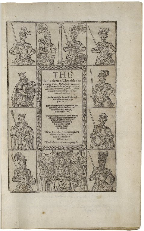 [Chronicles of England, Scotlande, and Irelande]