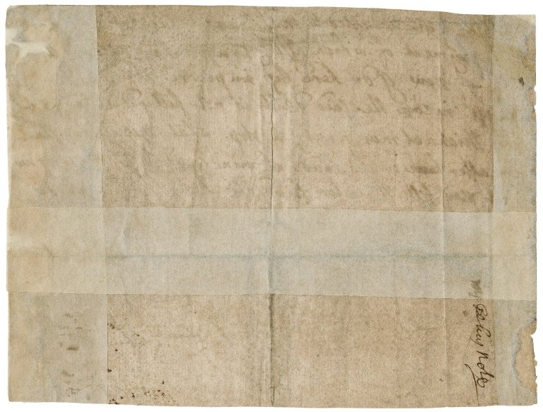 Promissory note from Aphra Behn to Zachary Baggs : autograph manuscript signed