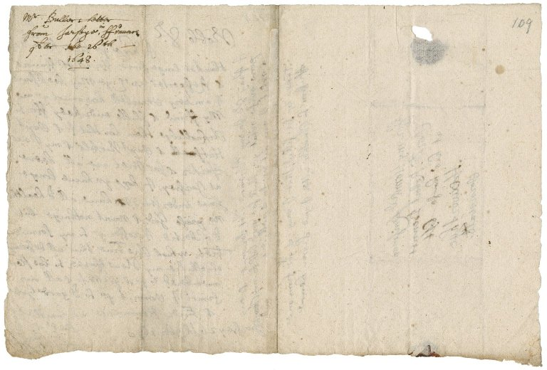 Letter from Colonel Anthony Buller, Jersey, to Colonel Robert Bennet, Hexworthy