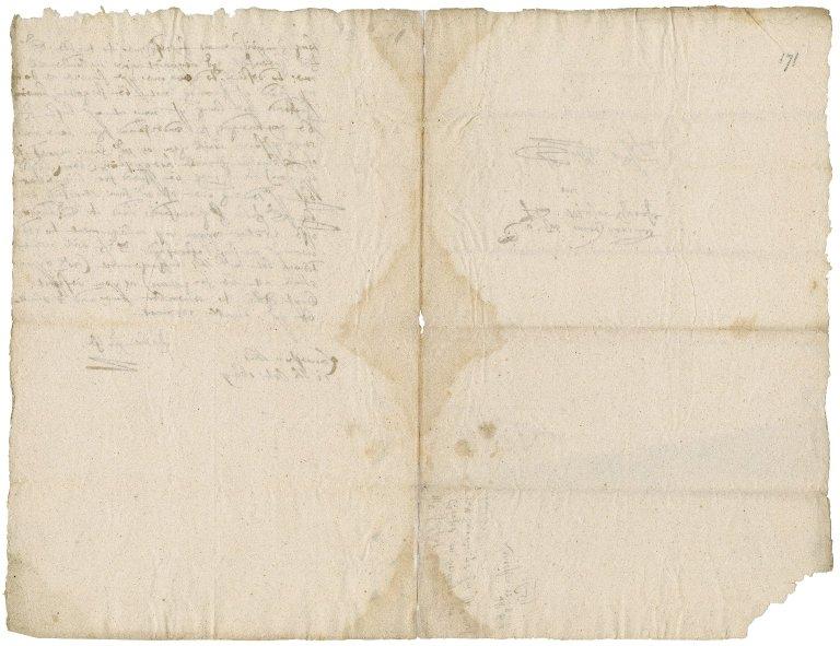 Letter from John Jelfe, Launceston, to Major Grosse (Groase), Scilly
