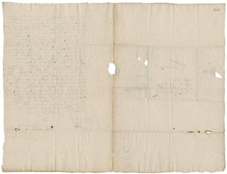 Letter from Captain Thomas Harris and John Davis, St. Malo, to Colonel Robert Bennet, Launceston