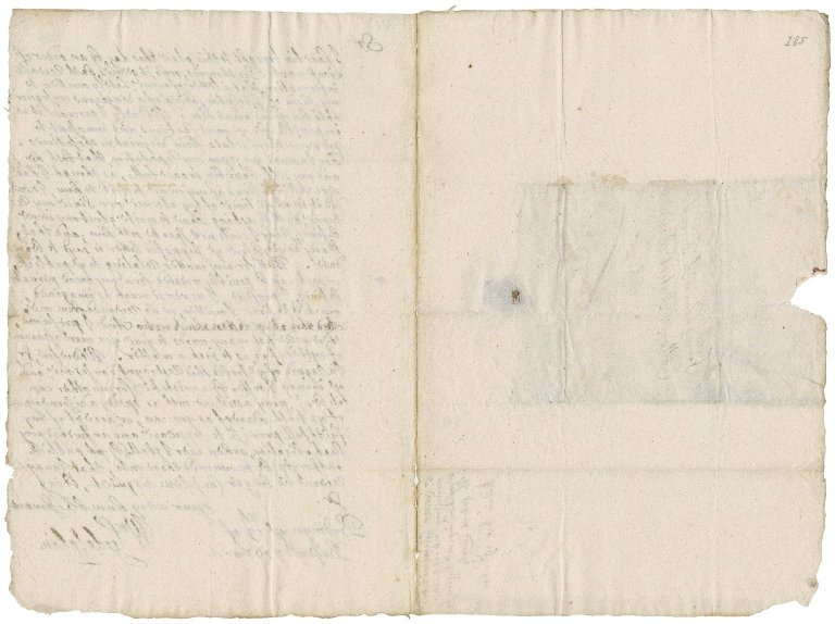 Letter from Sir William Godolphin, Bodmin, to Colonel Robert Bennet