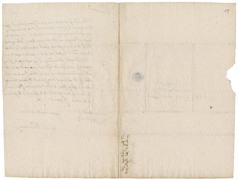 Letter from Sir Richard Prideaux, Lostwithiel, to Colonel Bennet
