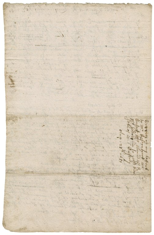 Letters from Colonel Bennet, Launceston, to Sir James Smith (Smyth); to Messrs. Godolphin, Arundell and Bassett; to Charles Roscarrock, Mr. Arundell, Mr. Bassett and Mr. Godolphin : drafts