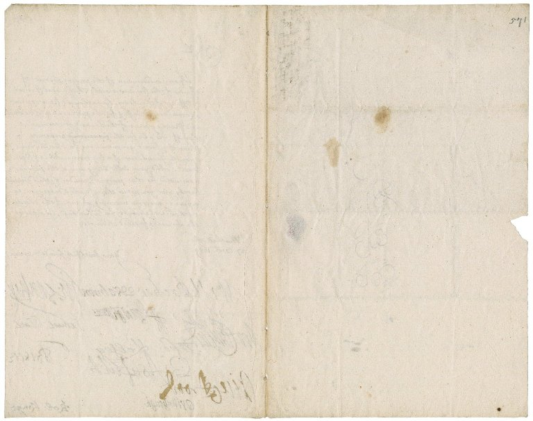 Letter from the Committee of Officers appointed by the General Council of the Army to Robert Bennet