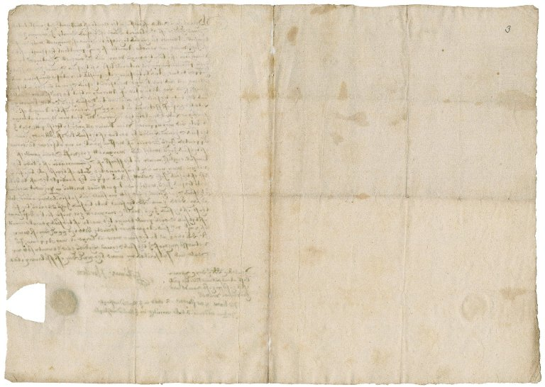 Letter of attorney of Thomas Horden