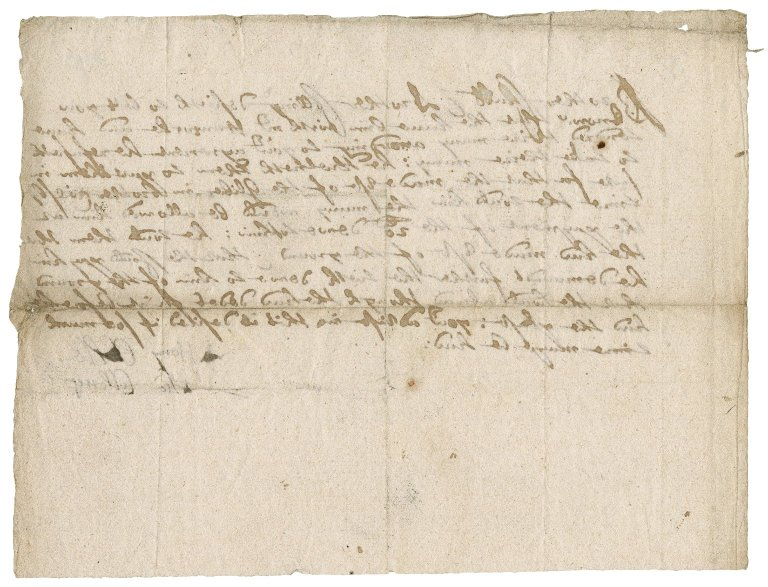 Letter from Henry Chubb and Thomas Collong to Robert Bennet?