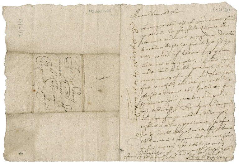 Letter from Fergus Neilson to David Rattray of Craighall, Edinburgh