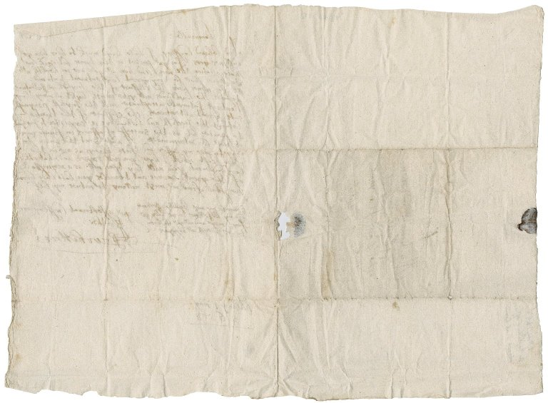 Letter from James Lord Ochiltree to Patrick Rattray of Craighall, Alloa
