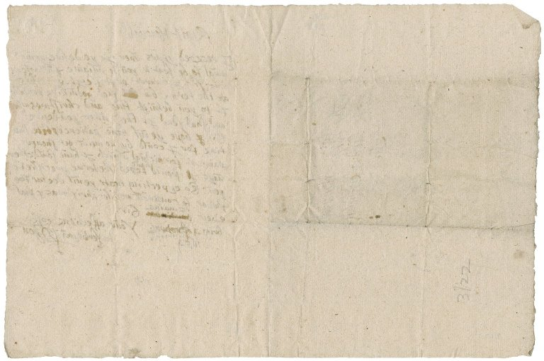 Letter from P. Lyon to Patrick Rattray of Craighall, Brigton