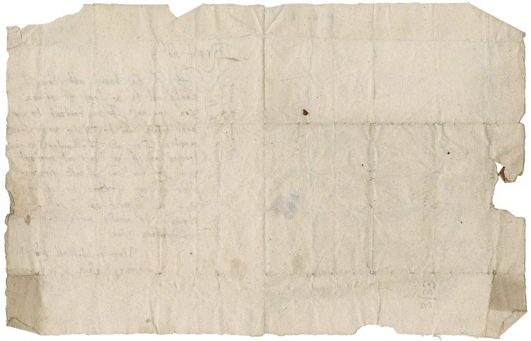 Letter from George Lindsay, 3rd Lord Spynie to Patrick Rattray of Craighall