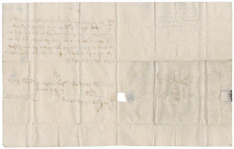 Letter from John Drummond, Earl of Melfort, to Patrick Rattray of Craighall, Drummond