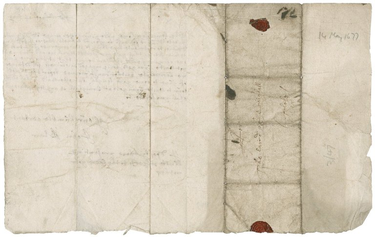Letter from John Blair to James Rattray of Craighall, Balthayock