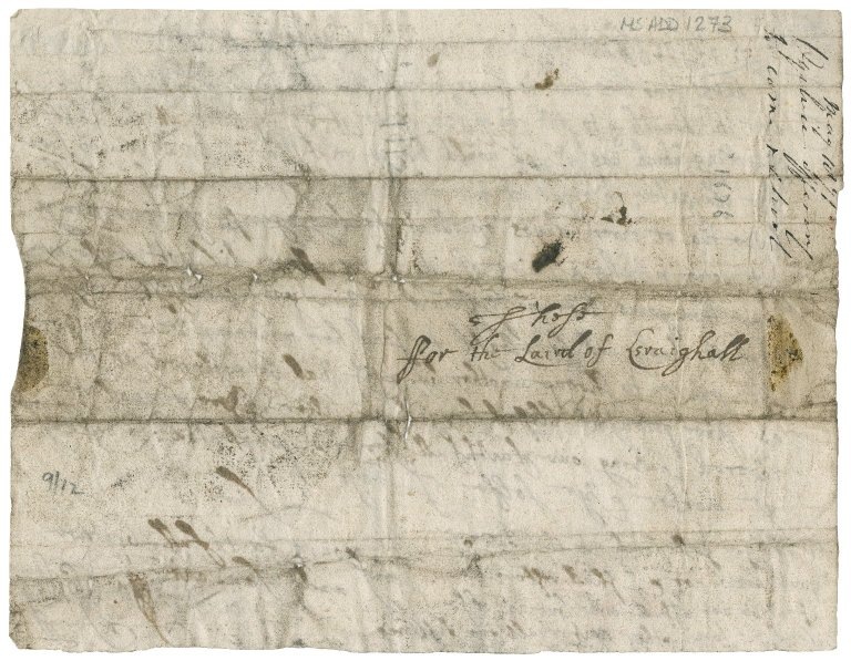 Letter from John Ogilvy of Balfour to James Rattray of Craighall, Balfour