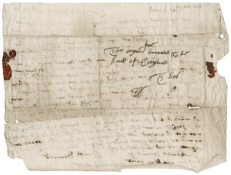 Letter from James Drummond to James Rattray of Craighall, Gardane