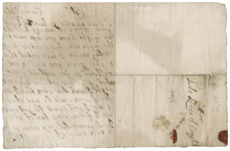 Letter from A. Menzies to James Rattray of Craighall, Cairns