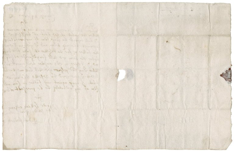 Letter from Patrick Stewart to James Rattray of Craighall (cousin), Cairns