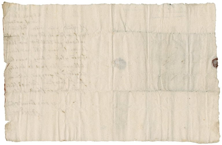 Letter from John Leslie, 4th Lord Lindores, to the Laird of Craighall, Cupar