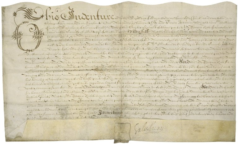 License for 31 years from William Cecil, Earl of Salisbury, to Edwin Rich
