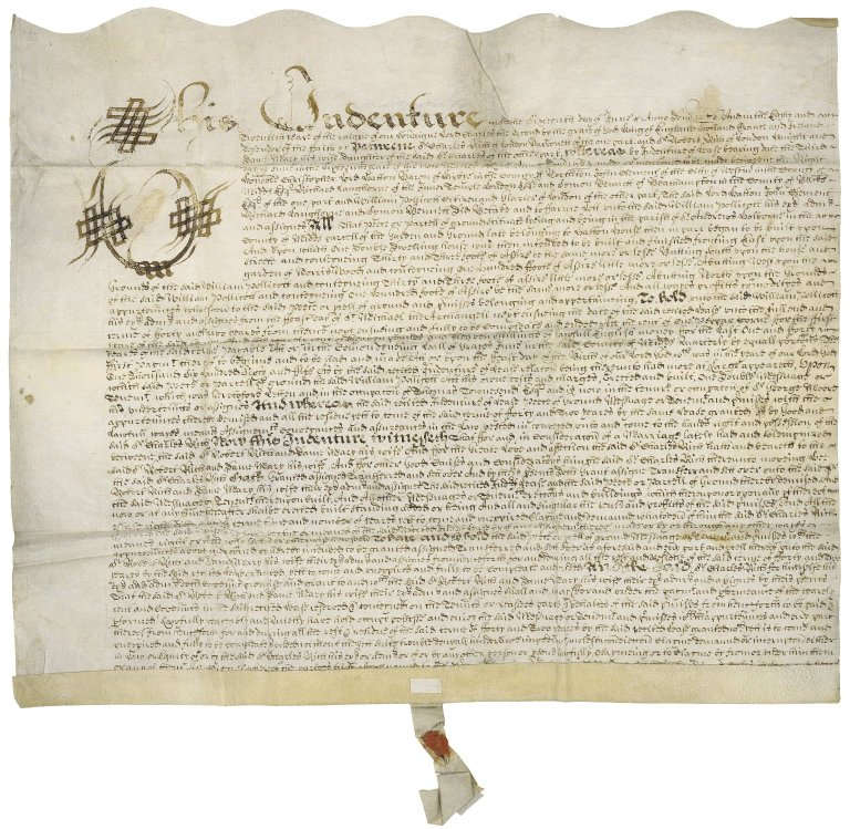 Marriage settlement between Sir Charles Rich and Sir Robert Rich and Dame Mary his wife and the daughter of Sir Charles