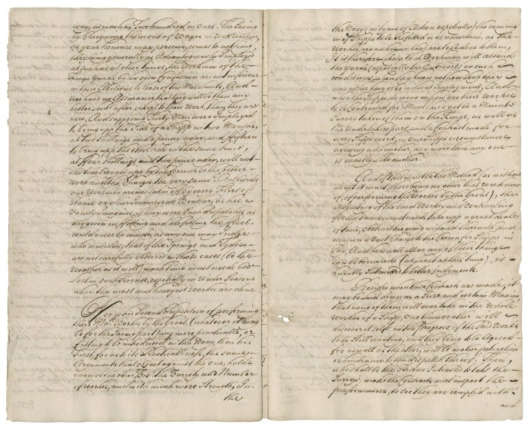Report of the principal officers and commissioners of their Majesties' navy on the proposal of George Everett, shipwright , to the lords of the Admiralty : copy