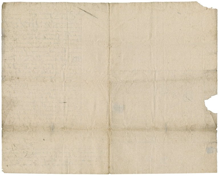Letter from William Pacy, Yarmouth, to Sir Robert Rich