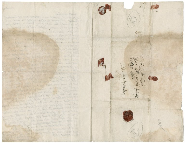Letters from Mary (Rudd) Rich to Sir Robert Rich: X.d.451 (168-169)