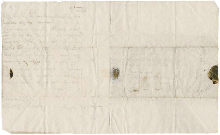 Letter from General William Baillie to David Rattray of Craighall, Coupar Angus