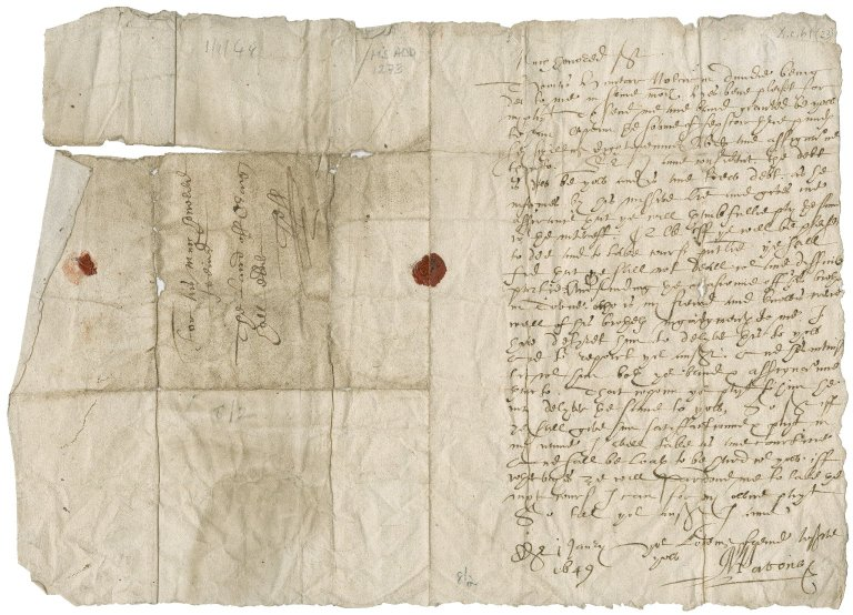 Letter from Alexander Paton to David Rattray of Craighall, Edinburgh