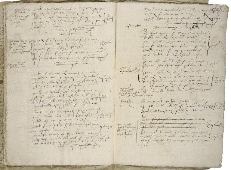 More, Sir William. Liber Willelmi Mori. Account book,