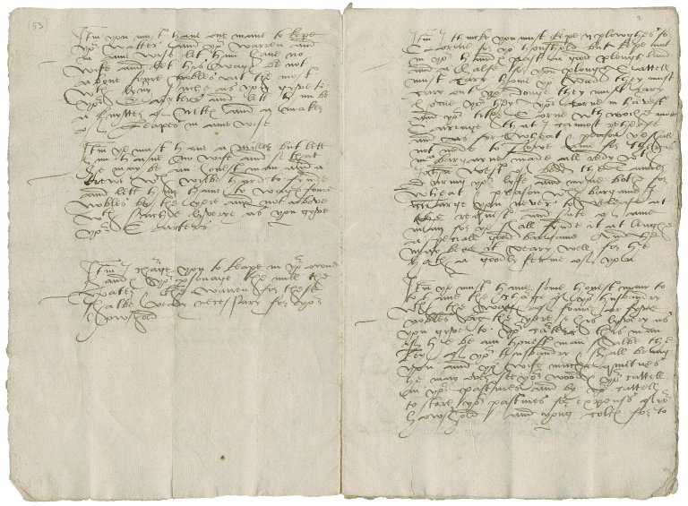 Advice to a newly-married gentleman, of Willington, [Derbyshire], by his father.